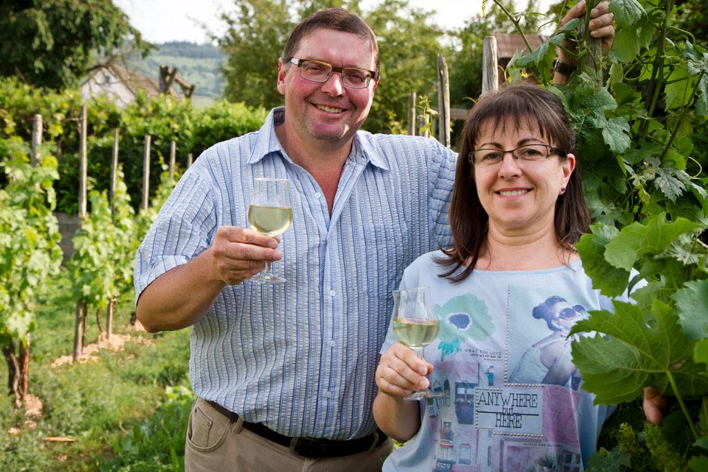 Winzer-Ehepaar Scholtes